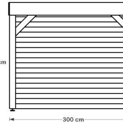 ABRI DE SPA avec toiture étanche